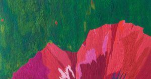 "Detail of ""Don't Surrender"" by Karen Ponischil"
