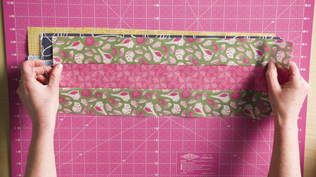 Sew Easy: Cutting Segments from Multiple Bands