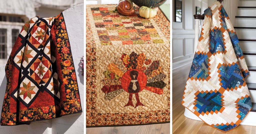 Fall quilt patterns to beat the heat
