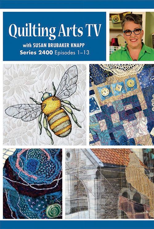Art quilts for QATV Dvd