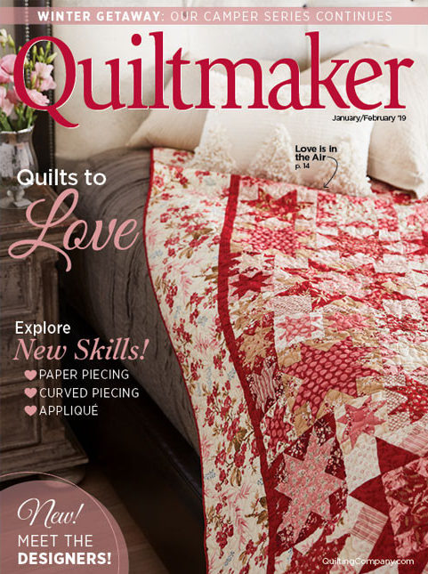 Quiltmaker January/February 2019
