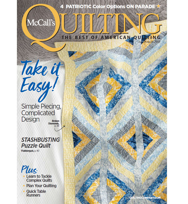 McCall/'s Quilting Magazine August 2003
