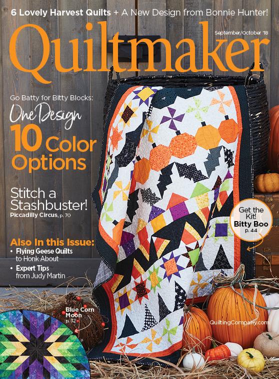 Quiltmaker September/October 2018