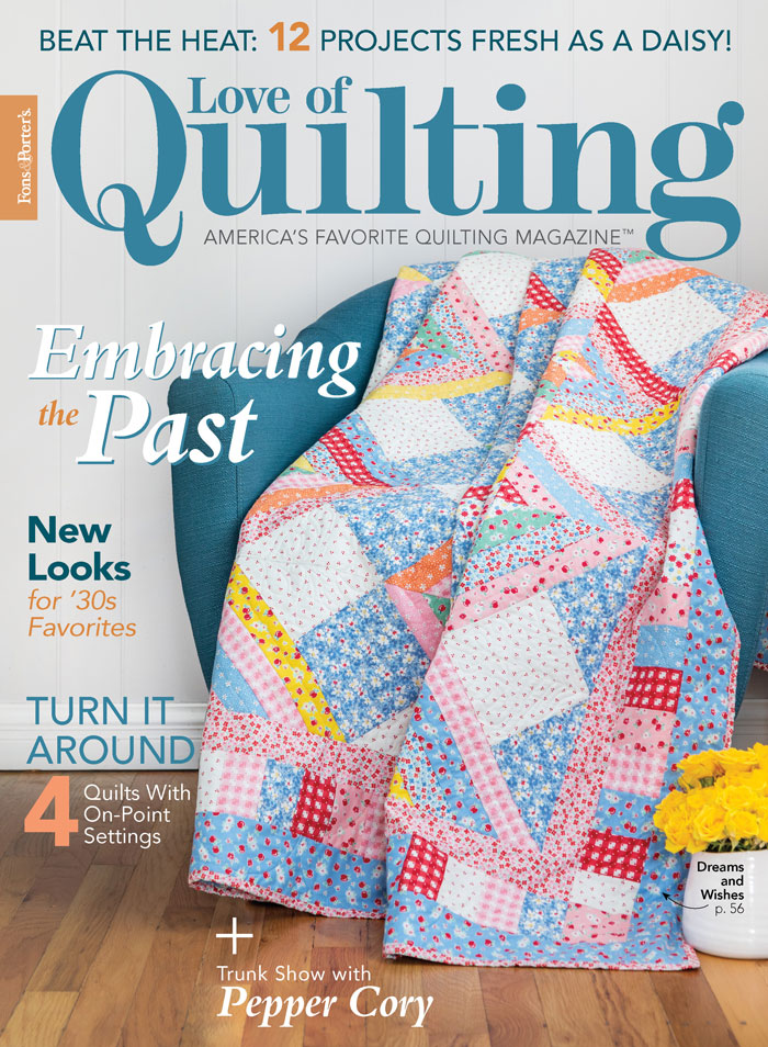 Love of Quilting July/August 2020
