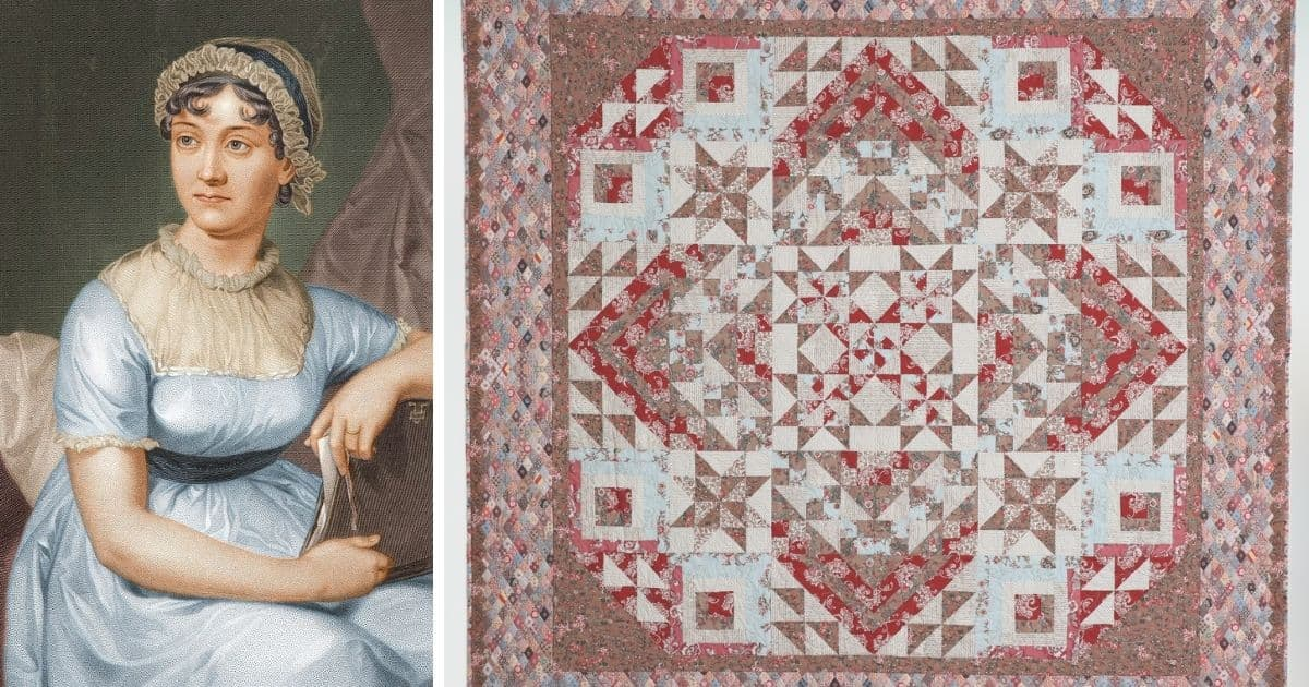 Quilt Blocks With A Story Jane Austen Inspired Patchwork Quilting Daily