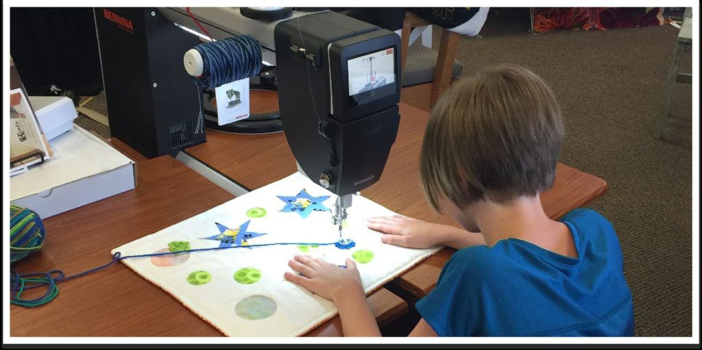 Raised by a Maker: Teaching Kids to Sew and Quilt