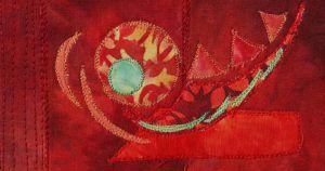 Detail of work by Lyric Montgomery Kinard