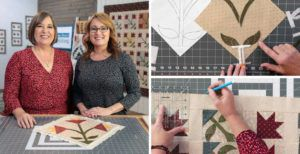 Love of Quilting Series 3800 episode 3804 Prairie Lily header image