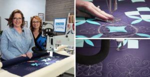 Love of Quilting Series 3800 episode 3805 Mermaid Feathering header image