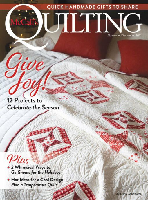 First Look: McCall's Quilting November/December 2021