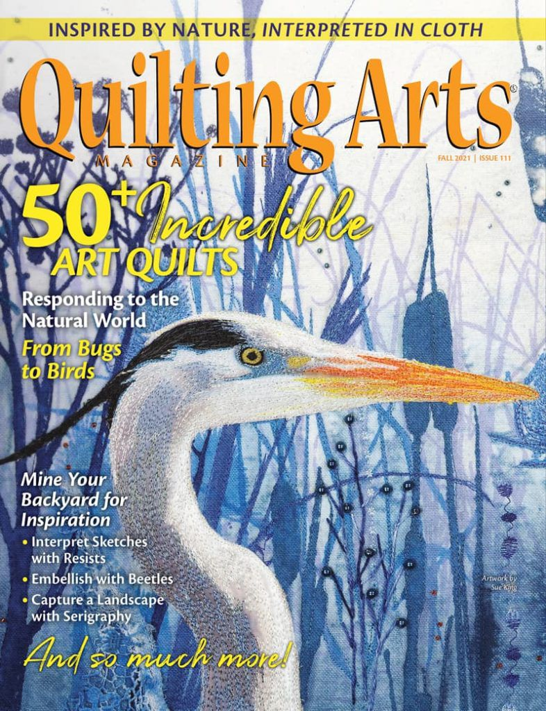 Quilting Arts FAll 2021 cover